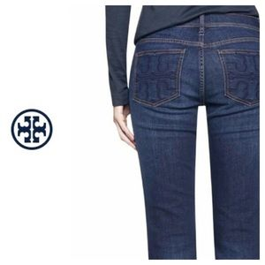 🐞Tory Burch The Classic Tory Bootcut jean size 26